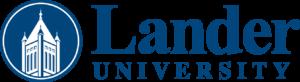 LOGO - Lander horizontal blue